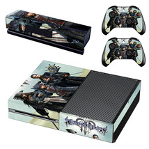 Kingdom Hearts 3 decal for xbox one console and 2 controllers - $15.00