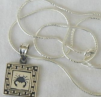 Scorpio-A zodiac sign pendant