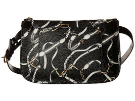 Ralph Lauren Women's Signature Print Belt Bag (Black, L) - $49.50