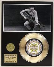 """Bob Dylan Laser Etched With Lyrics To """"Blowin' In The Wind"""" Limited Edition Gold - $85.45"""