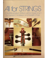 All for Strings Comprehensive String Method Violin Book 1 - $4.00