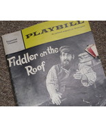 "VINTAGE PROGRAM FROM ""FIDDLER ON THE ROOF"" Imperial Theatre"" - $8.00"