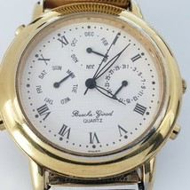 Vintage Bueche Girod Chronograph Watch Triple Date Excellent Condition 1... - $263.09