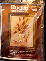VTG Bucilla Needlecraft Kit #3335 Country Pickins 22x28 NEW sealed Made In USA - $23.76