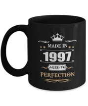 Funny Birthday Mug - Made In 1997 Aged To Perfection - Novelty gift For ... - $18.95