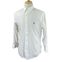 Ralph Lauren Polo Men's Classic Fit Long Sleeve White Shirt 15.5 32/33 - $23.75