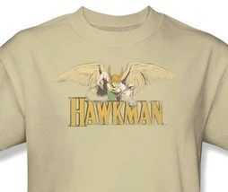 Hawkman T-shirt Free Shipping 80's cartoon DC superhero Super Friends tee DCO176 image 1