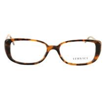 New Versace Eyeglasses VS 3178-B944 Havana/Gold Acetate 51 16 135 Authentic - $85.50