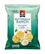 Quaker Rice Crisps, Buttermilk Ranch, 6.06 oz Bags, 6 Count Packaging Ma... - $17.27