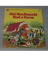 Children's Classic Tell A Tale Book Old MacDonald Had a Farm - $5.00