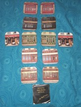 RARE The Pubs of London- Andre Renoux 12  Coasters Collection - $21.78