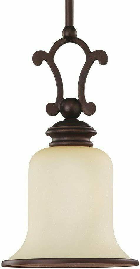 Sea Gull Lighting 61145-814 Acadia 1-Light Mini Pendant Misted Bronze Finish - $31.67