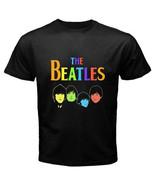 THE BEATLES Personels Rock Band Legend Mens Bla... - $16.99