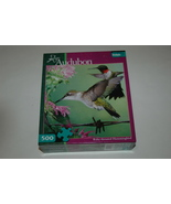 Audubon Ruby-throated Hummingbird 500 Piece Puzzle by Buffalo Games Comp... - $8.50