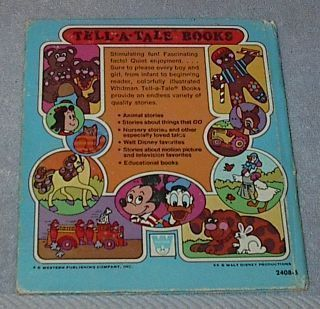 Children's Tell a Tale Book My Little Book of Dogs