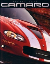 2002 Chevrolet CAMARO brochure catalog 02 US Z28 SS Chevy  - $9.00