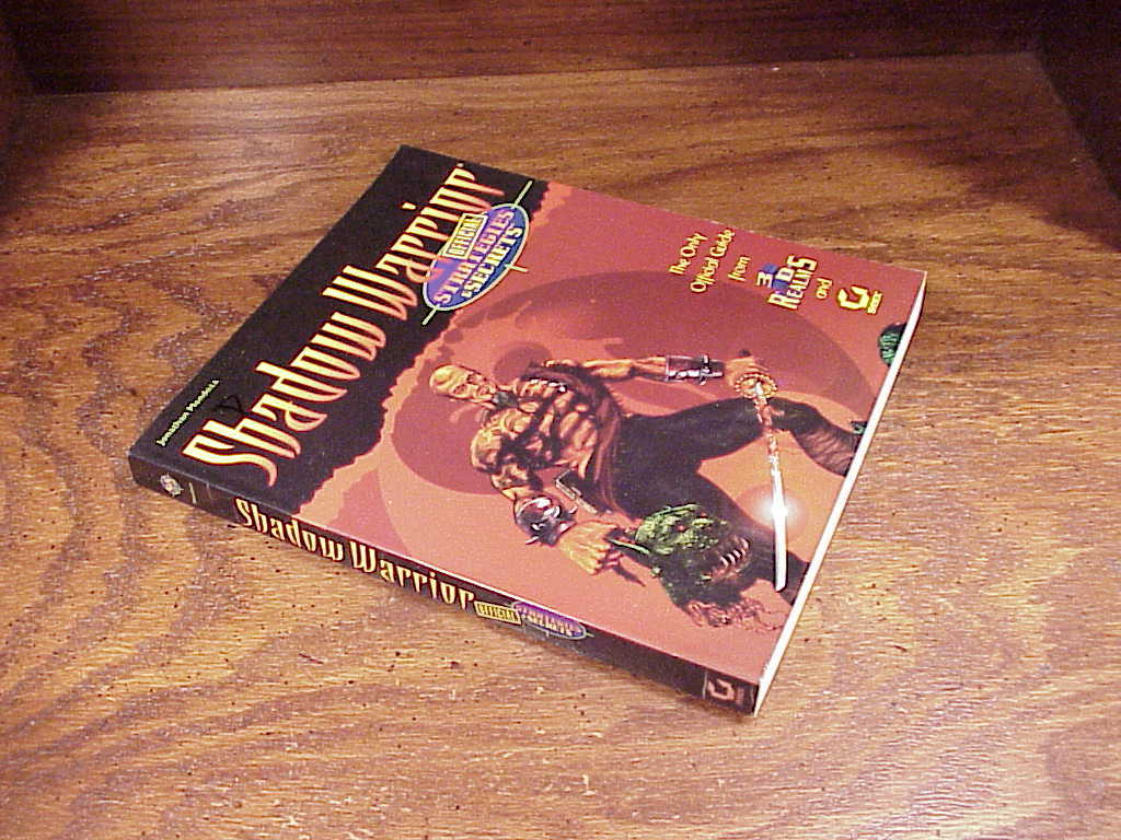 Shadow Warrior Official Strategy and Secrets Guide Book