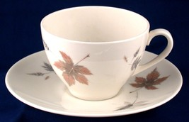 Royal Doulton Tumbling Leaves Cup & Saucer TC1004 - $6.00