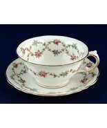 Pointons Hand Painted Cup & Saucer Roses England China 3444 - $25.00