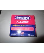 Benadryl Allergy 48 Count Boxes Ultratab - $5.87