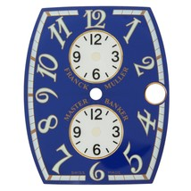 Franck Muller 25 - 31 mm Master Banker Blue & White Unisex Watch Dial - $399.00