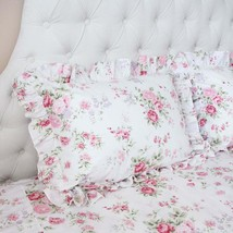 SHABBY CHIC RUFFLE KING PILLOW COVER - $19.79