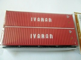 Jacksonville Terminal Company #405058 IVARAN 40' Hi-Cube Container N-Scale image 1