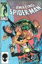 the Amazing Spider-Man Comic Book #257, Marvel Comics 1984 NEAR MINT NEW... - $11.64