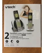 VTech CS6919-2 DECT 6.0 Cordless Phone with 2 Full Duplex Handsets - Silver - $22.66
