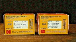 2 Rolls of Kodak Film AA20-2089 Vintage image 4