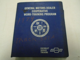 1974 GM Cooperative Work Service Training Program Chevrolet Trucks OEM Book *** - $158.39