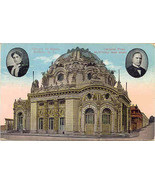 President  Mc Kinley and Temple of Music Buffalo New York 1915 Post Card  - $7.00