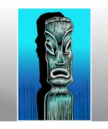 """""""Blue Tiki"""" - $20.00"""