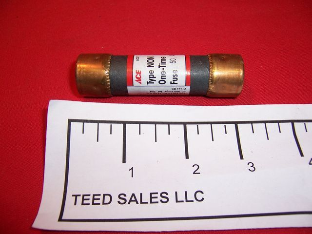 NON-50 cartridge fuse 50 amp 250 volt 2 per pack