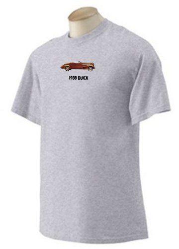 Buick 1946 EMBLEM Licensed Adult Long Sleeve T-Shirt S-3XL