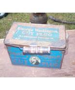 ANTIQUE GEORGE WASHINGTON CUT PLUG TOBACCO TIN CIRCA 1920'S Lot # 60 - $165.00