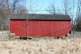 Erwinna Covered Bridge 13 x 19 Unmatted Photograph - $35.00