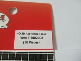 Atlas # 4002008 Acetylene Tanks 10 Pieces 3D Printed Accessories HO Scale image 2