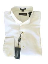 15.5 32/33 NWT Mondo di Marco White Stripe Jacquard Tuxedo Dress Shirt 5... - $113.85