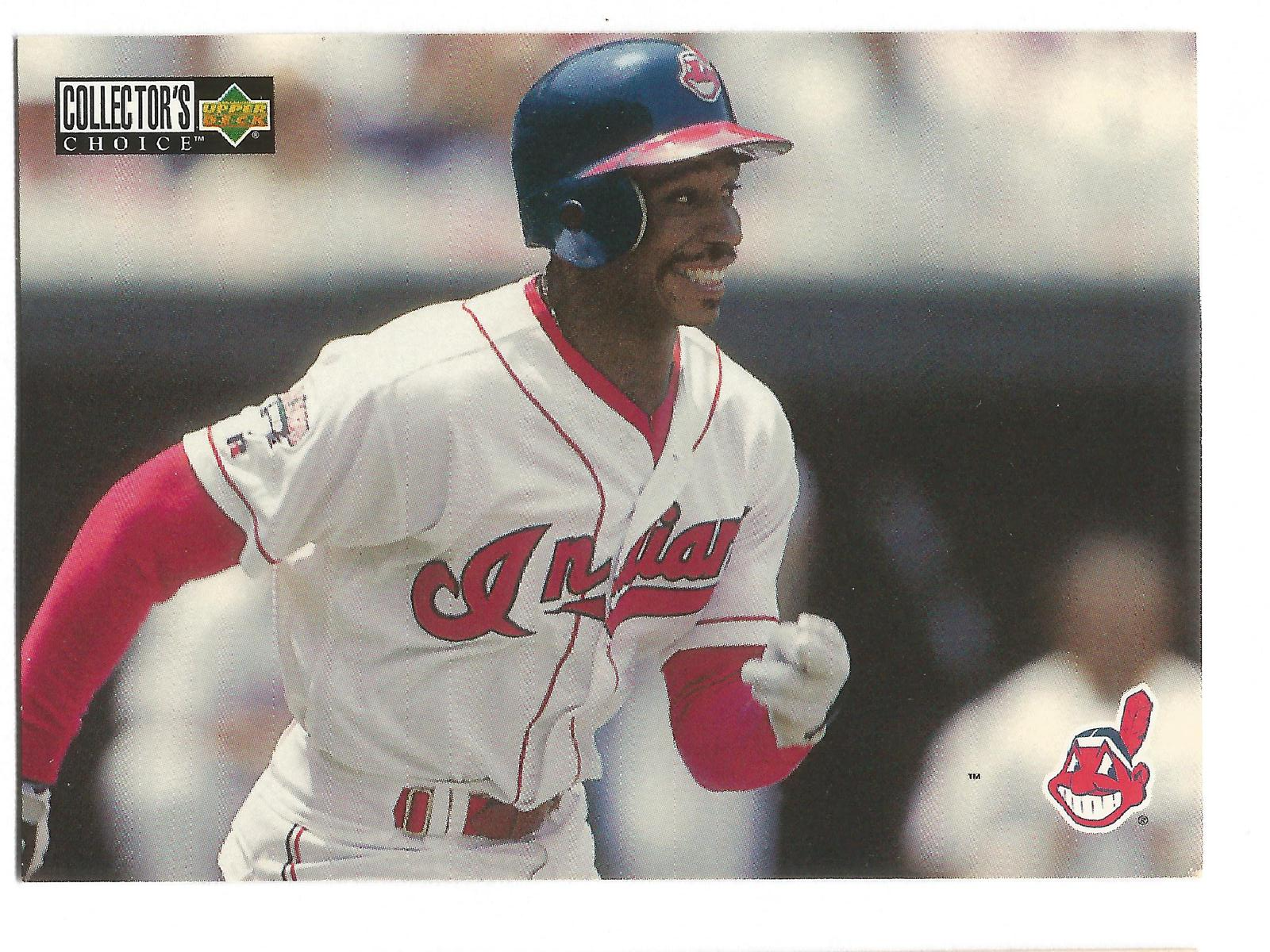 Kenny Lofton 1996 Upper Deck Collectors Choice Card #410 Indians Free S&H