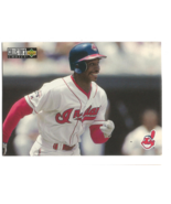 Kenny Lofton 1996 Upper Deck Collectors Choice Card #410 Indians Free S&H - $1.20