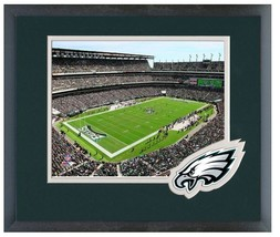 "Lincoln Financial Field Home of the Philly Eagles- 11"" x 14"" Framed/Matt... - $888,58 MXN"