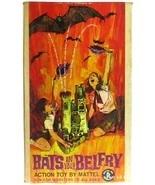 Vintage Mattel Bats in Your Belfry Dracula Castle Halloween Game NM w/Bo... - £292.56 GBP