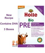 Holle Stage Pre Organic Infant Formula with DHA 3 Boxes 400g Free Shipping - $76.95