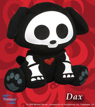 Skelanimals Series 1: Dax The Dog 9 Inch Tall Plush NEW! - $39.95