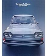 1972 Volkswagen 411 sales brochure catalog 72 US VW Type 4 - $8.00