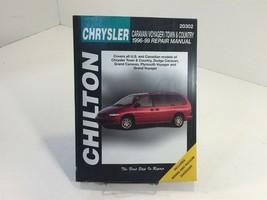 1996-1999 Chilton's Chrysler Mini Van Repair Manual 20302 Caravan Town & Country - $14.99