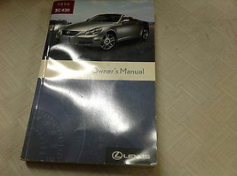 2006 Lexus SC430 Sc 430 Owners Manuell Fabrik Autohaus Handschuh Box Füh... - $89.10