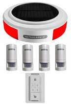 3G GSM Solar Powered Wireless Burglar Alarm PIR Kit (Ultralarm) - $255.77+