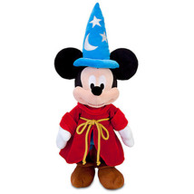 Disney Store Sorcerer Mickey Mouse Plush Medium 24'' Toy New With Tags - $24.05